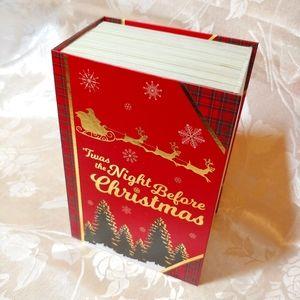 Night Before Christmas Book Shaped Gift Box